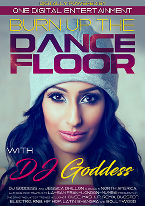 Burn up The Dance Floor with DJ Goddess