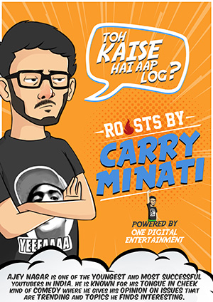 roasts by carry minati